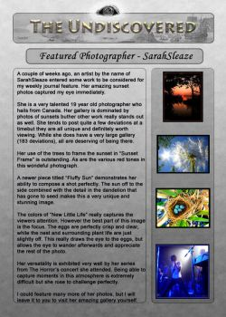 Issue 5- Photography by The-Undiscovered