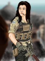 Me as a Task Force 141 Soldier by Yankeestyle94