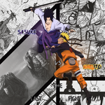 Sasuke vs Naruto by YataMirror