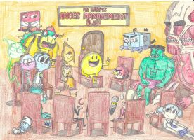 Mr. Happy's Anger Management Class by Finnjr63