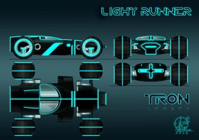 TRON - Light Runner by Paul-Muad-Dib