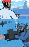 Archie Cousteau by Rednin