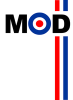 t-shirt design,we are the mods by markcrossey