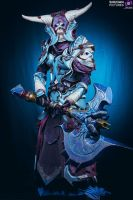 My death knight_T14 by KoniCosplay