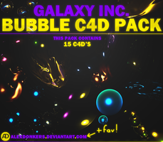 Galaxy Inc. - Bubble C4D Pack by AlexDonkers