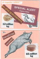 anti meat cards by KatDiestel