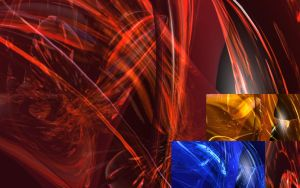 3D Glassy Abstract by ShippD