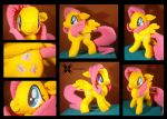 Fluttershy with movable head, ears and wings by Oblitor