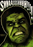 Hulk Smash by Steve-Nice