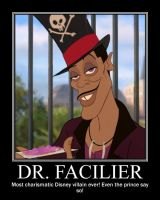 Dr. Facilier motivational by Persian13