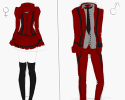 Dread Academy Uniform by Madlaid