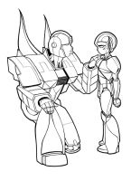 Prowl and Sunny by taisryo