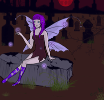 Succubus Fairy by death6loves6me6