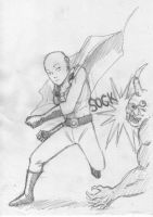 Onepunch-man by Rolzor