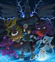 My Pokemon Team by The-Blue-Wind