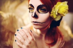 sugar skull. by photosofme