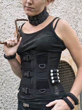 Tactical Corset - close up by silverman