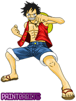 MonkeyDLuffy por PainterBits by PainterBits