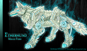 ZOIDS - Etherhund Mirage by SakuraBomb