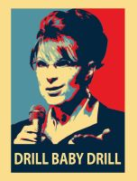 Drill Baby Drill by robot-uprising