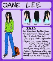 Jane ref by JadeKingfisher