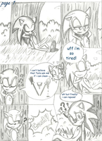 SonAmy Valentine's day Comic: Page 1 by LiaMenietowLove