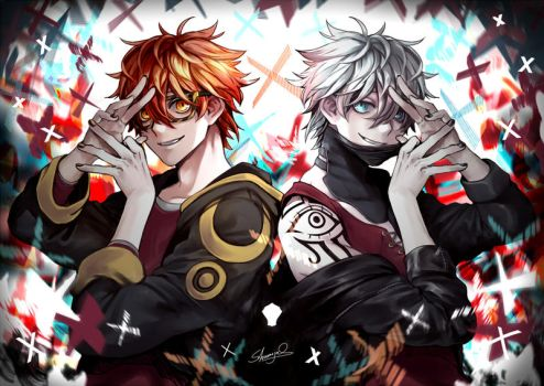 Mystic Messenger - 707 Unknown by Shumijin