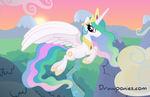 Princess Celestia (as seen on EQD) by drawponies