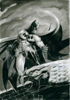 Batman Gargoyle by Nicolas-Demare