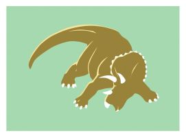Triceratops by spooky-freaky-dave