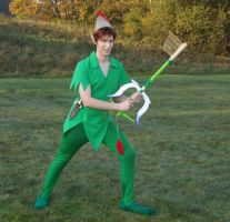 Keyblademaster Peter Pan by Jake-Peter-Pan