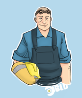 TF2 - Engie by SuperKusoKao
