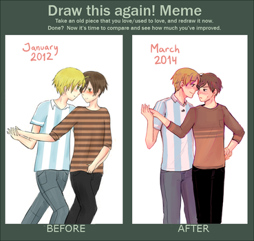 Draw this again by Abstractmeow