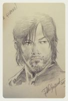 Daryl Dixon by elena-casagrande
