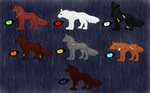The Wolves by ironwitch