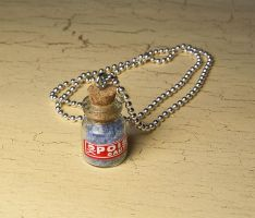 Poison bottle necklace by skuggsida