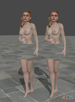 Nude Alex Wesker! by anorexianevrosa