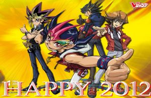 Happy 2012 by Ludynhaanime