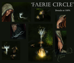 'Faerie Circle' Details by RebeccaStapp