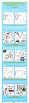How to show variation in your lineart: part 1 by murr000