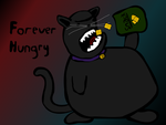 Hungry Kitten by evilnecrosis
