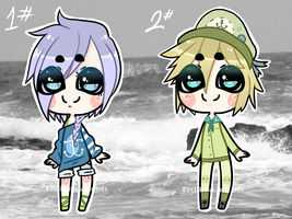 Little Sailors (OFFER TO ADOPT) (OPEN) by Tedibea-adopts