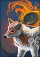 Amaterasu by LLoryZ
