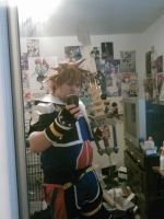 Sora Costume With My New Toy!! by JasonTerror