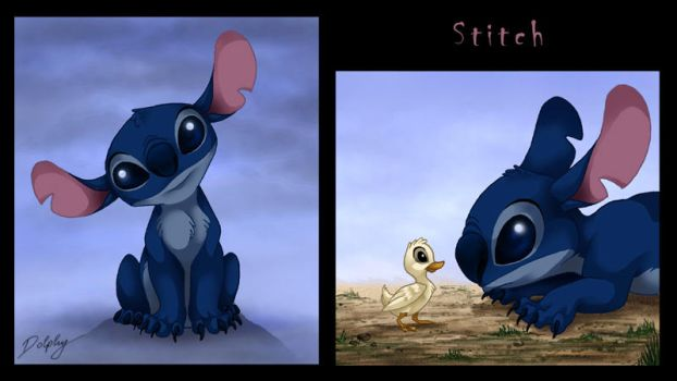 Stitch by DolphyDolphiana