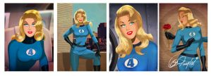I Love Sue Storm by DESPOP