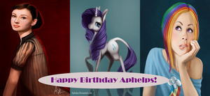 Aphelps Birthday Gift by TempestVortex