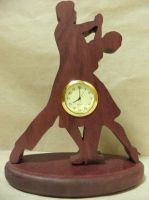 Ballroom Desk Clock (Mariah) by ichtheria