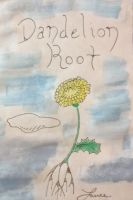 Dandelion Root Flyer by LanceREads