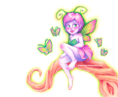 Doodle Fairy by Gigglestar